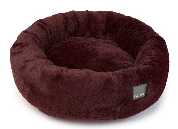 Fuzzyard Eskimo Pet Bed - Merlot