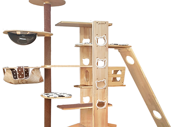 Luxypet Aaron 5 Cat Tower (Duplex)