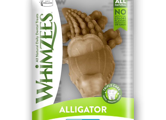 Whimzees Single Pack - Alligator