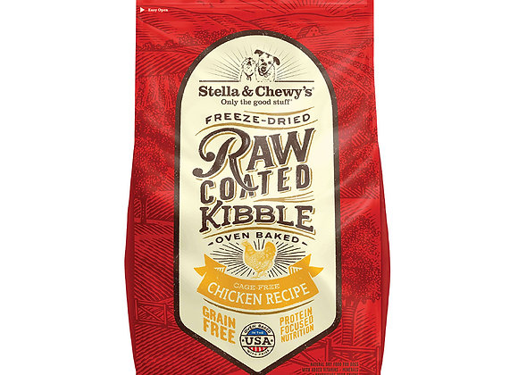 Stella & Chewy's Raw Coated Kibbles - Cage-Free Chicken