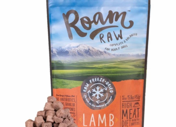 Roam Freeze Dried Lamb Dog Food