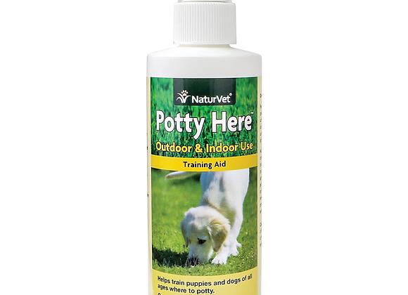 NaturVet Potty Here Training Aid Spray - 236ml