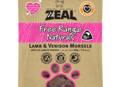Zeal Lamb And Venison Morsels