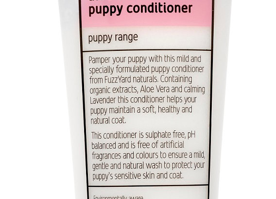 Fuzzyard Aloe Vera + Lavender, Puppy Conditioner 220Ml