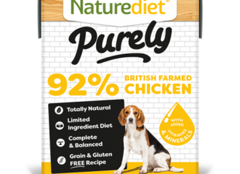 Naturediet Purely Dog Food - Chicken