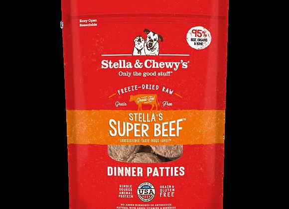Stella & Chewy's Stella's Super Beef Freeze-Dried Raw Dinner Patties