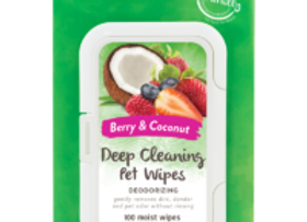 Tropiclean Deep Cleansing Wipes