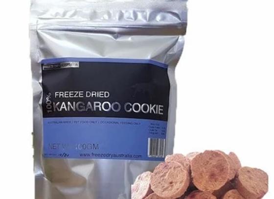 Freeze Dried Kangaroo Cookie
