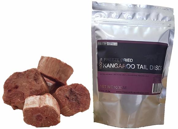 Freeze Dried Kangaroo Tail Discs