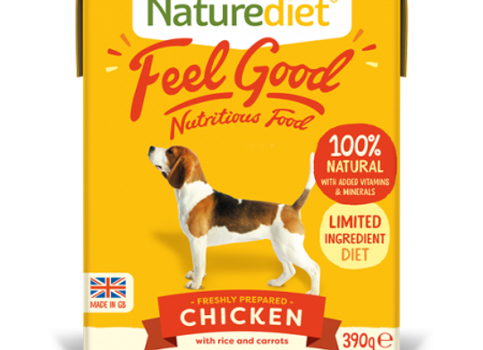 Naturediet Feel Good Dog Food - Chicken