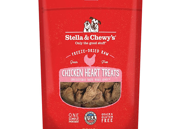 Stella & Chewy's Freeze-Dried Raw Chicken Heart Treats