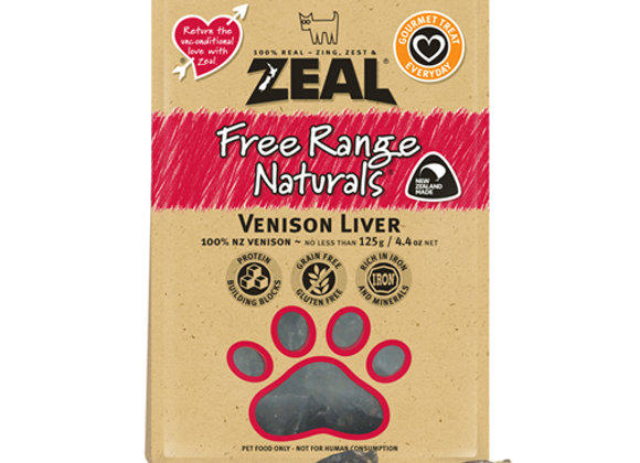 Zeal Dried Venison Liver