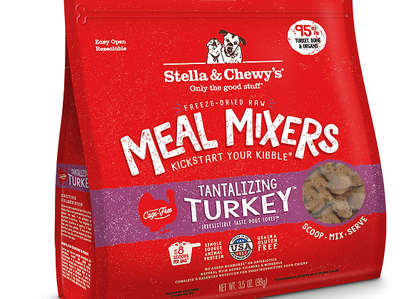 Stella & Chewy's Freeze-Dried Raw Tantalizing Turkey Meal Mixer