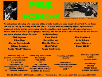 Punk Echoes Opening Night