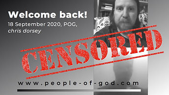 Welcome Back 18 September 2020, POG, chr