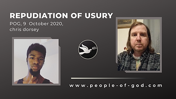 40 Repudiation Of Usury, POG, 9 October
