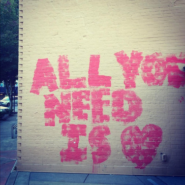 It proves true time and time again. All you need is love.