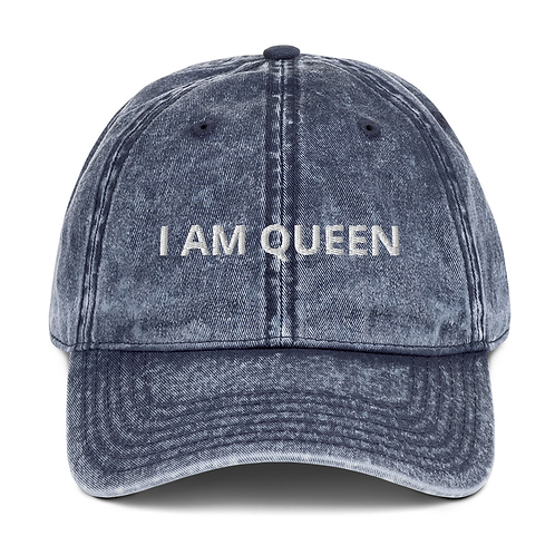 I AM QUEEN/KING Vintage Style