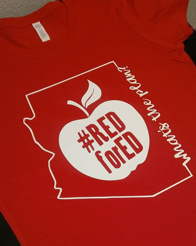 #customorder #custom #redfored #redforeducation #AZ #customshirts
