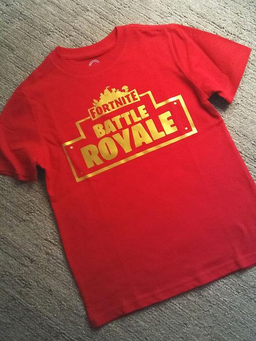 Battle Royale Fortnite Boys Tee