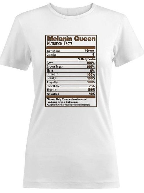 Melanin Queen Fact Tee