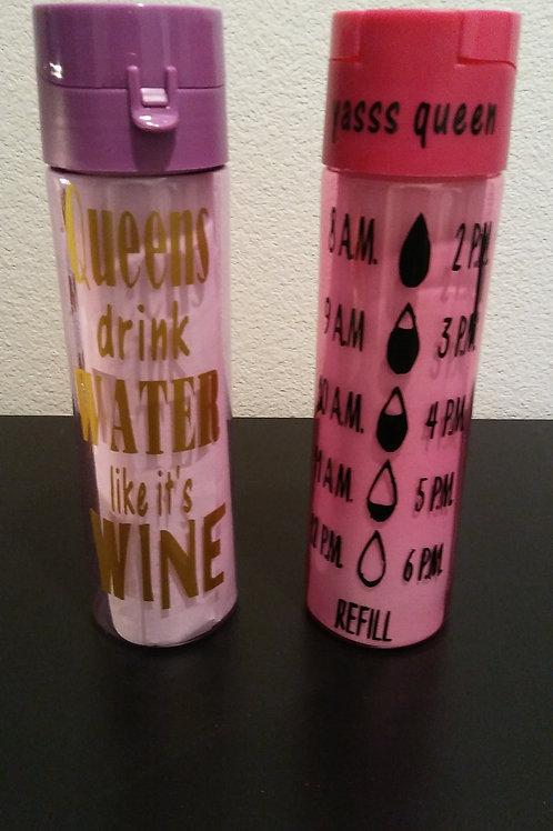 Queen Water Bottle 22 oz