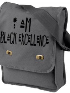 """I am Black Excellence"" Field Bag"