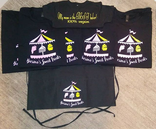 Custom Shirts and Apron