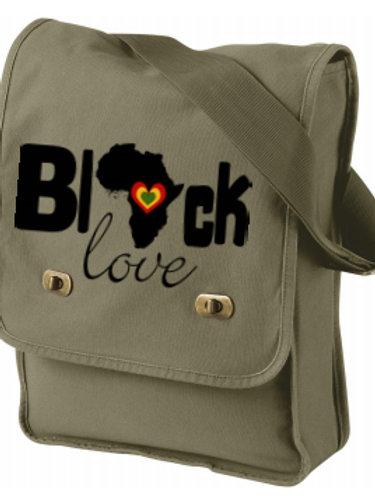 """Black Love"" Field Bag"
