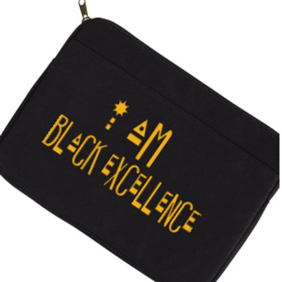 """I am Black Excellence"" Laptop Sleeve"