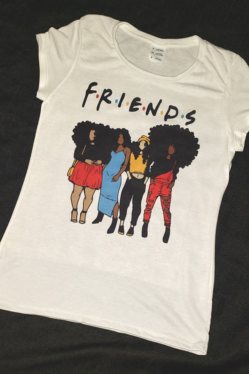 Melanin Friends tee