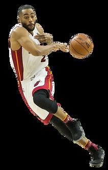 Wayne Ellington plays for Miami Heat
