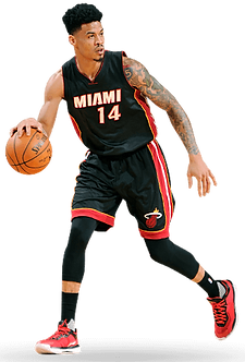 Gerald Green plays for Miami Heat