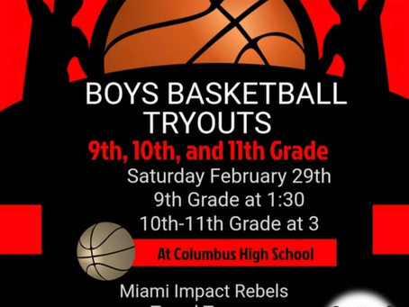 Miami Impact & Miami Rebels join forces! Come tryout!