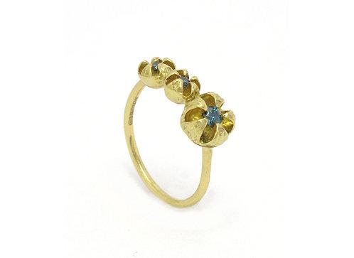 Natural Instinct Diamond Trilogy Ring