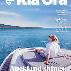 meet the maker - kia ora, air nz magazine