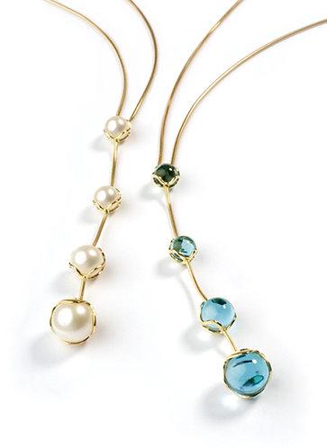 Encapsulated Raindrop Necklaces & Drop Pendants