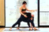 The fine art of yoga adjustmet
