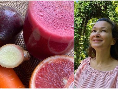 Deanna Yusoff's immunity boosting juice