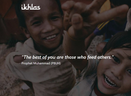 Give with Ikhlas