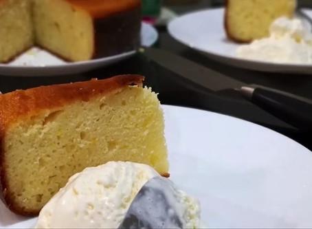 Nigel's citrus yogurt cake