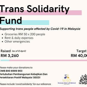 Contribute to the Trans Solidarity Fund
