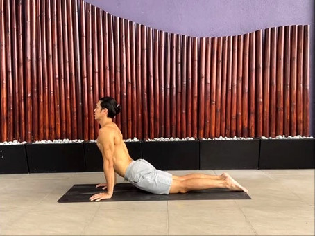 Improve your posture through yoga with Hansen Lee