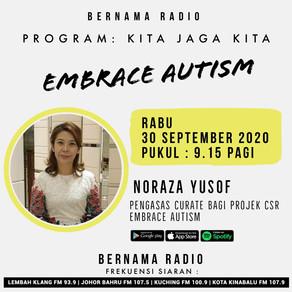Embrace Autism Marketplace on Bernama Radio