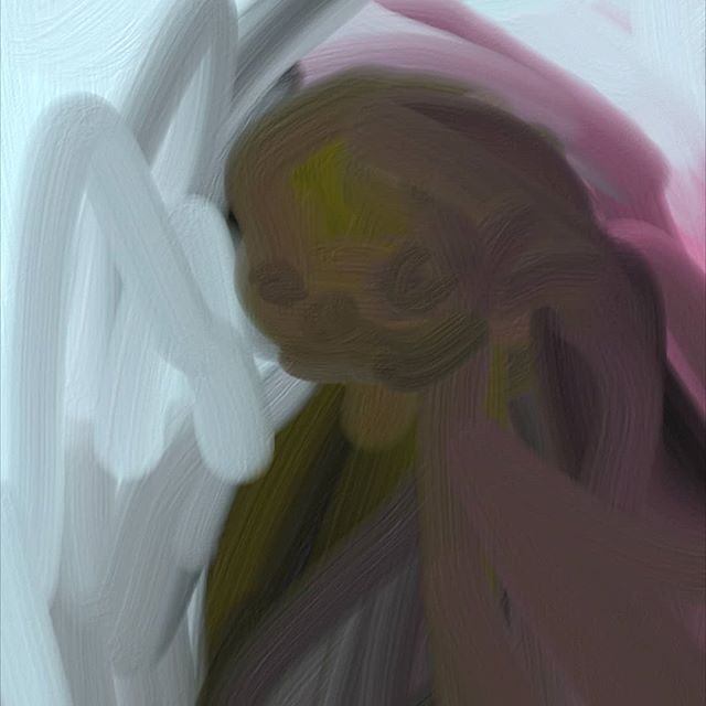 Fingerpainting on phone_#kunst #fingerpa