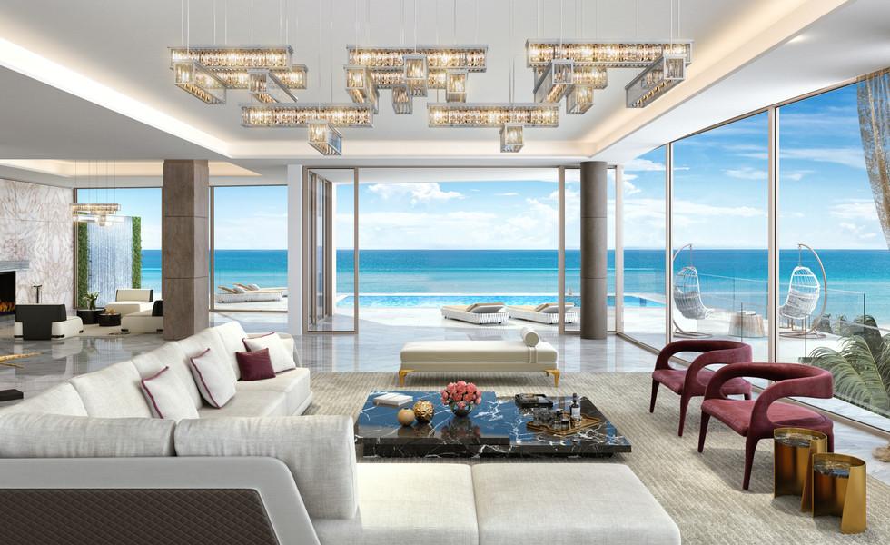 Casa D' Oro Living Room