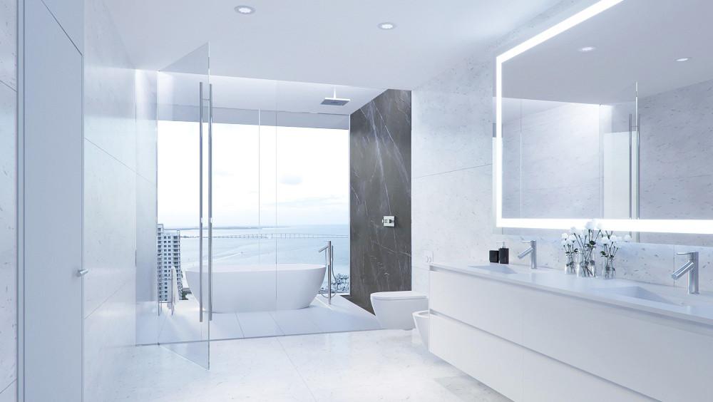 Unit 01 - Master Bathroom