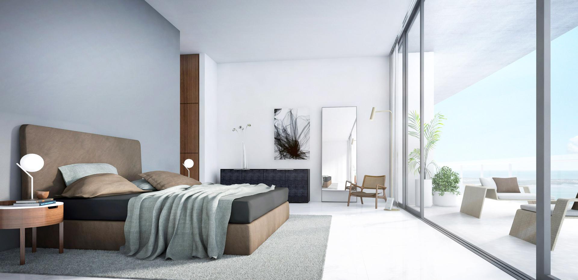 Unit 01 - Bedroom