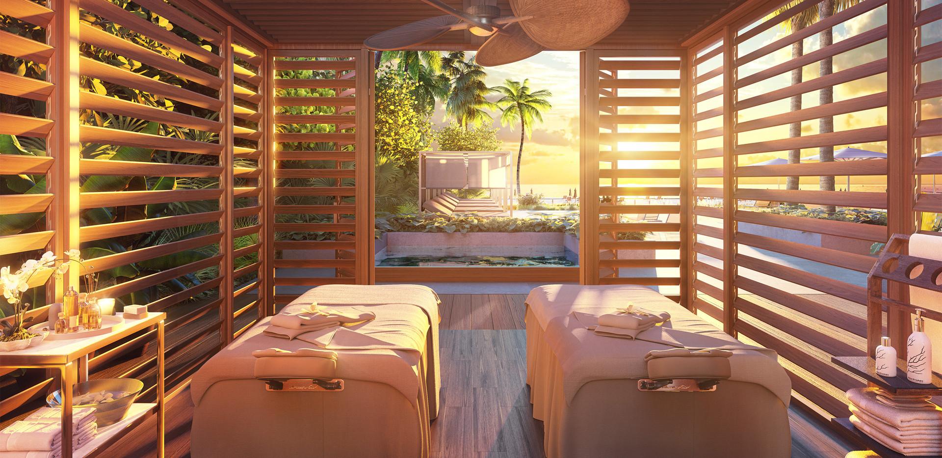 57 Ocean Outdoor Treatment Cabana