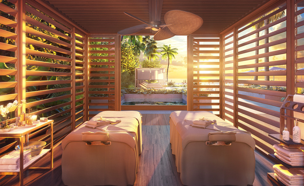 57 Ocean Outdoor Treatment Cabana